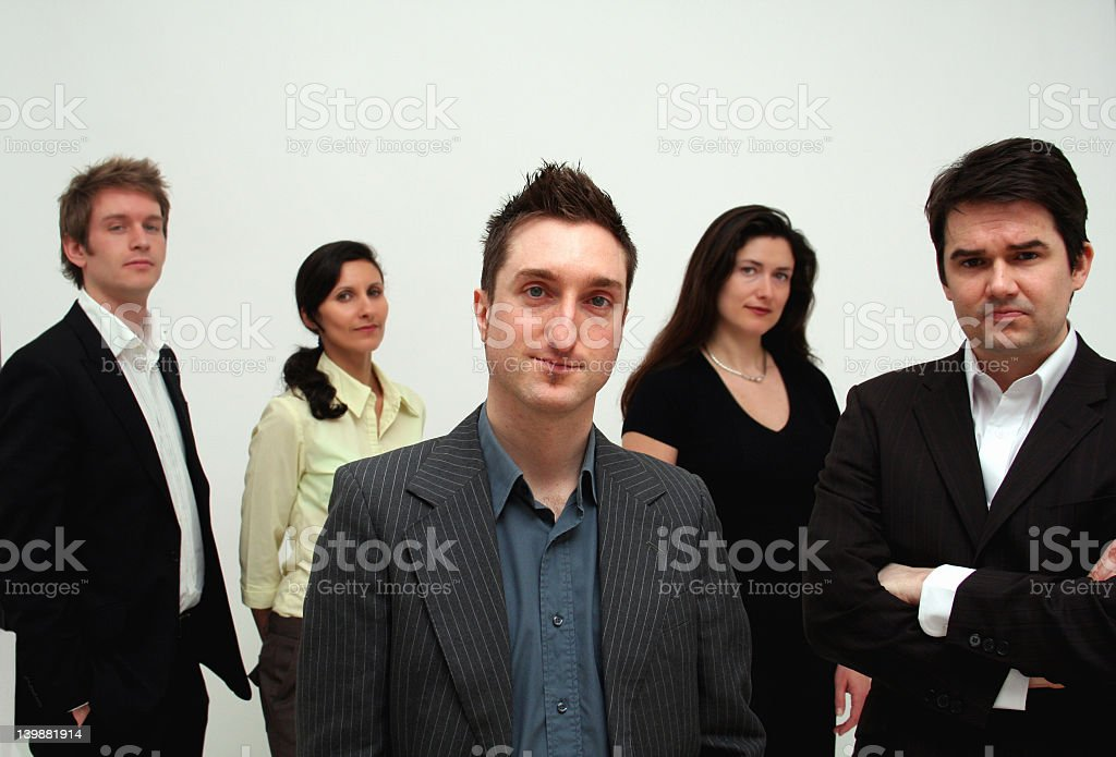 Business Team - Leadership royalty-free stock photo