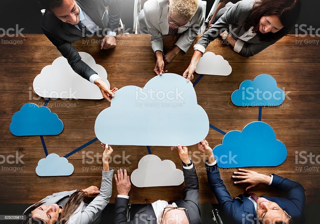 Business Team Meeting Discussion Working Concept royalty-free stock photo