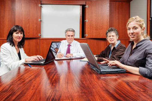 672116416 istock photo Business Team Meeting in Boardroom 171332713