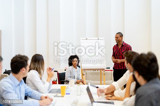 istock Business Team Meeting 1078103520
