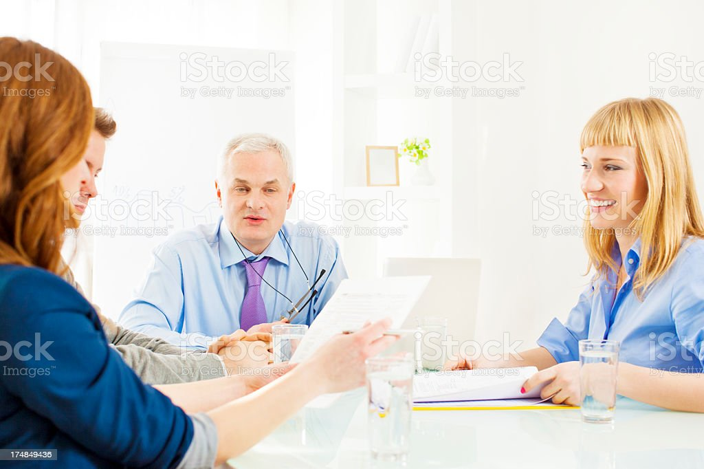 Business team meeting. royalty-free stock photo