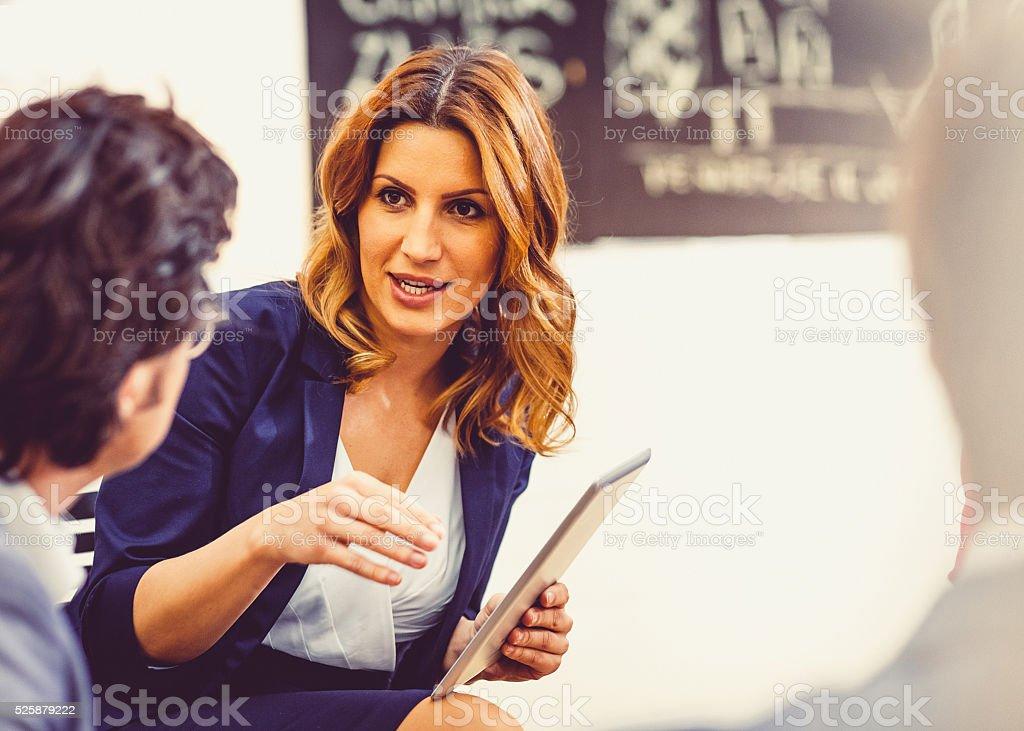 Business-team-meeting Lizenzfreies stock-foto