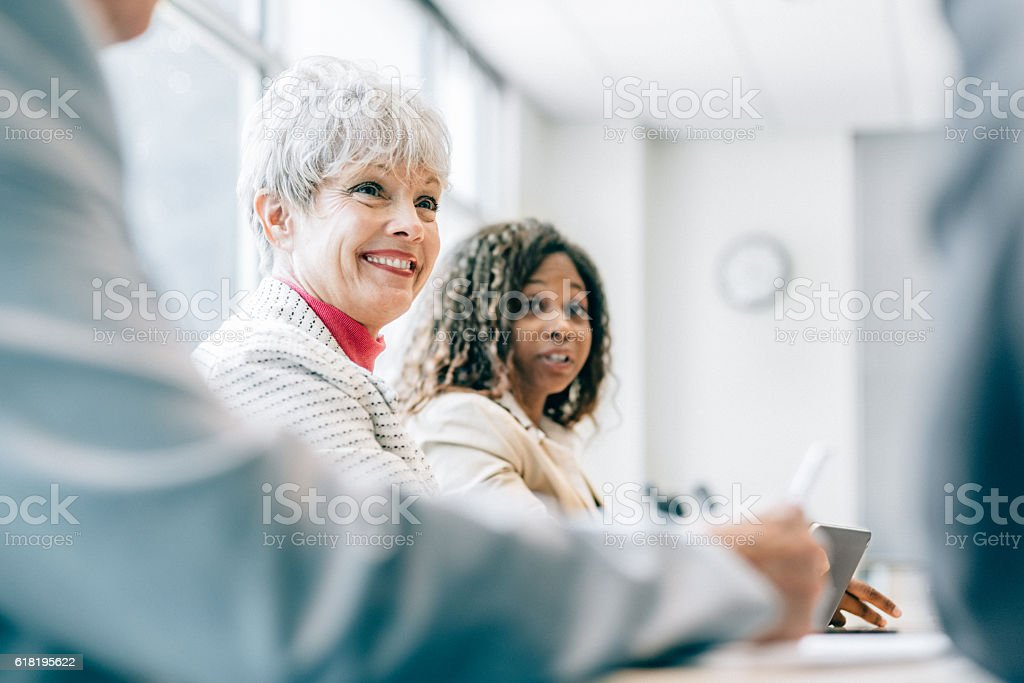 Business Team Meeting stock photo