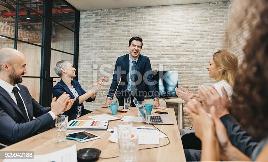 istock Business team meeting 925942188