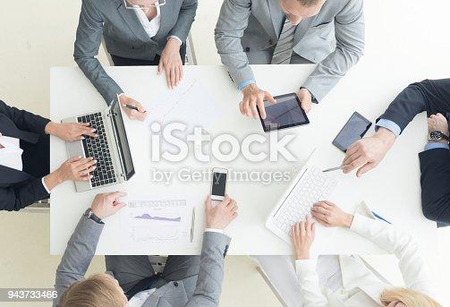 996183898 istock photo Business team meeting 943733466