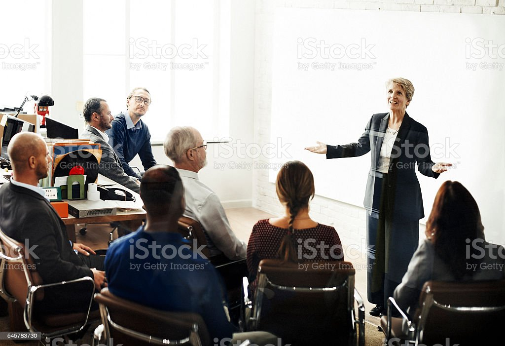 Business Team Meeting Seminar Conference Concept - foto de stock