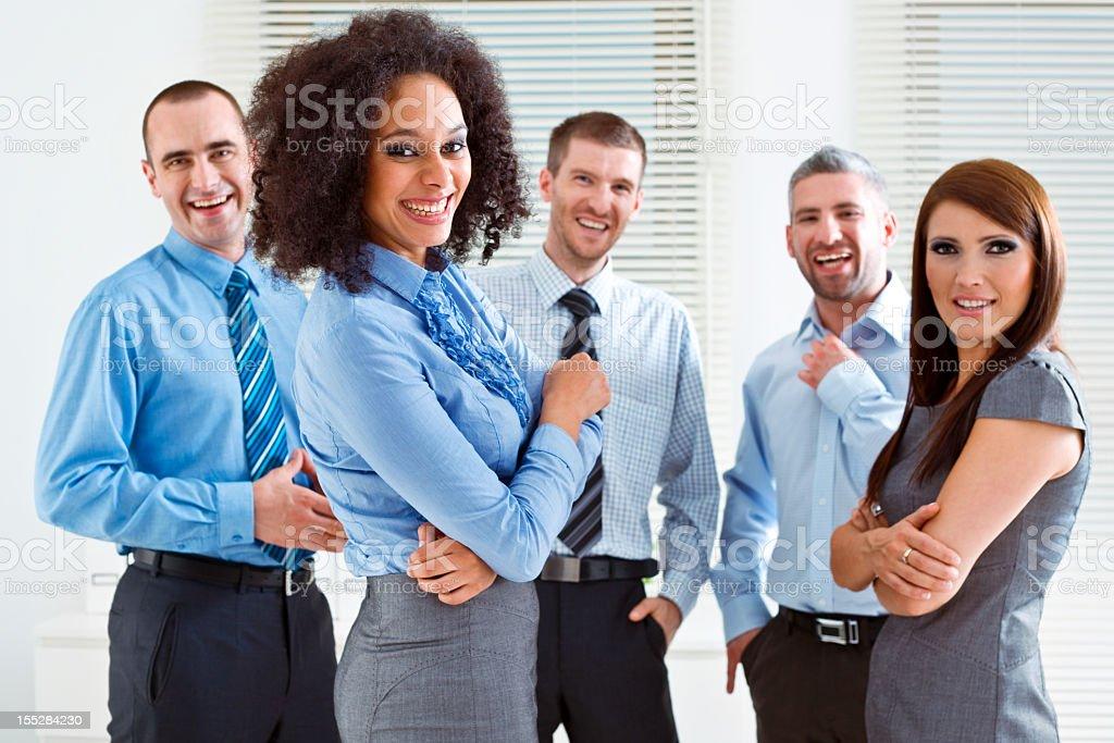 Business Team  25-29 Years Stock Photo