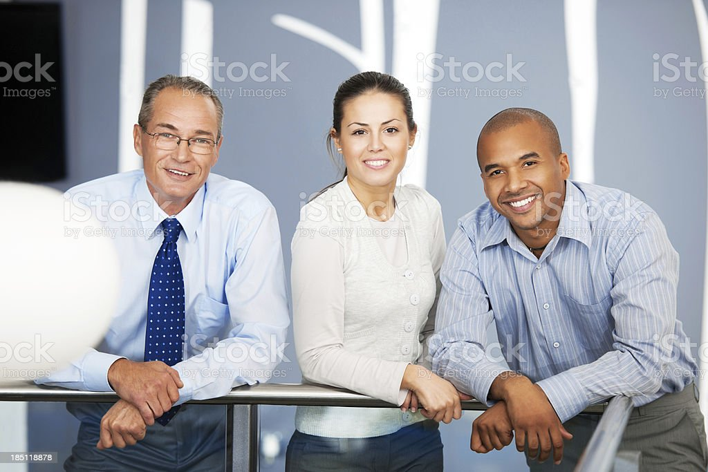 Business team. stock photo