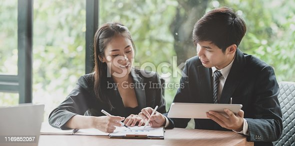 1068752548istockphoto Business team planing the company strategy together 1169852057