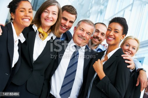 istock Business team smiling 145183484
