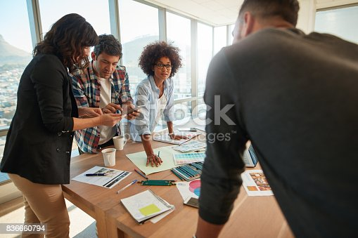 848290020istockphoto Business team working on creative project 836660794