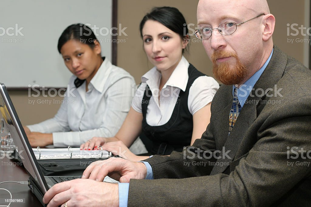 Business Team Working royalty-free stock photo
