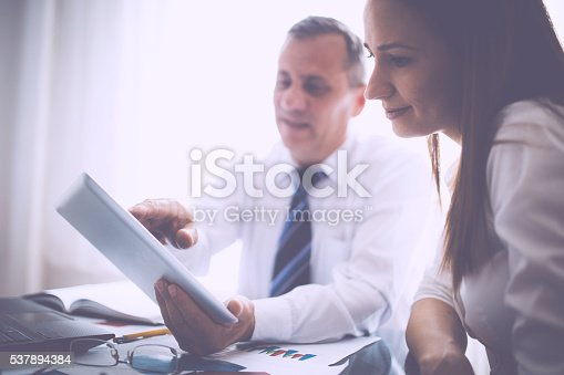 672116416istockphoto Business team working 537894384