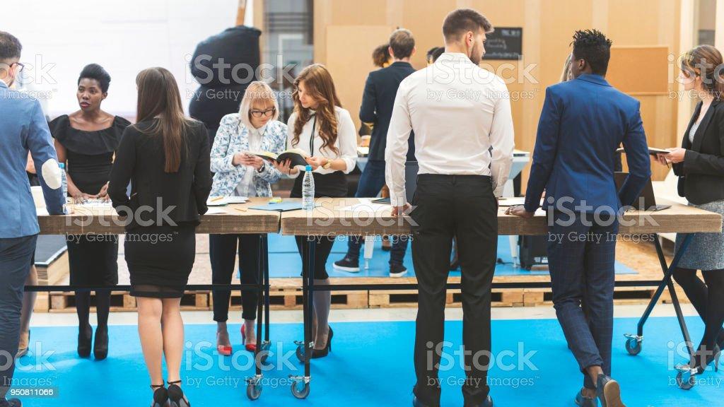 Business-team bei der Arbeit – Foto