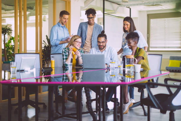 Business team working together Business team working together agility stock pictures, royalty-free photos & images