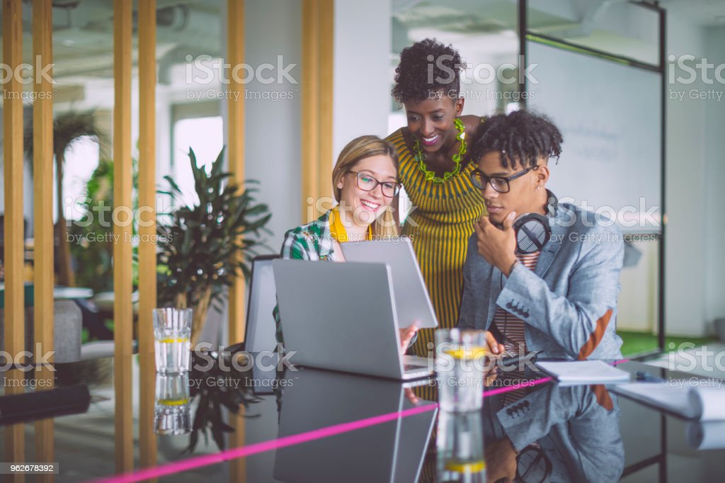 Business team working together - foto stock