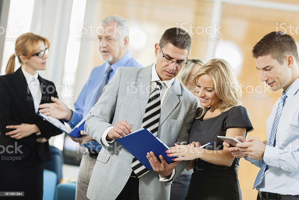 Business Team working togheter royalty-free stock photo