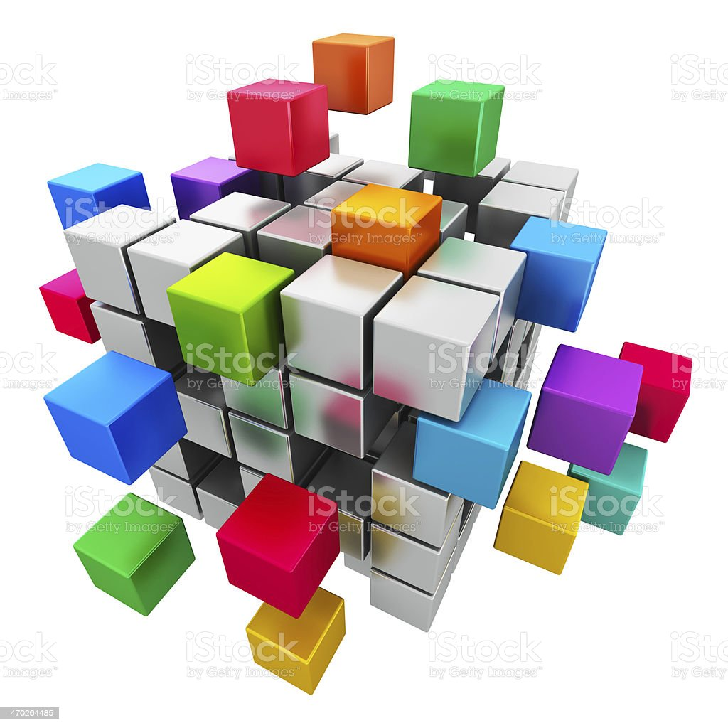 Business teamwork, internet and communication concept royalty-free stock photo