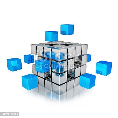 istock Business teamwork internet communication concept  462495311