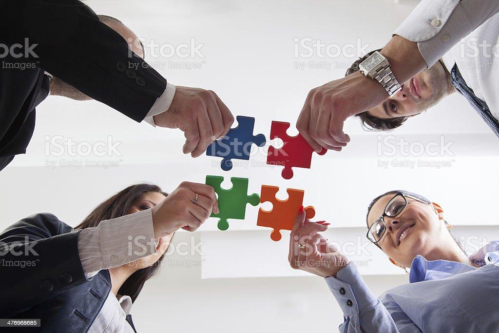 Business Teamwork stock photo