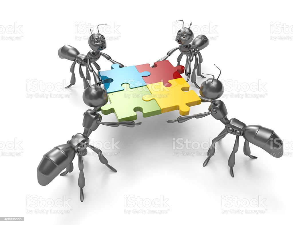 Business Teamworkants Stock Photo - Download Image Now ... - photo#33