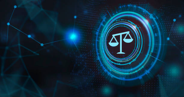 Business, Technology, Internet and network concept. Labor Law Lawyer Legal. stock photo