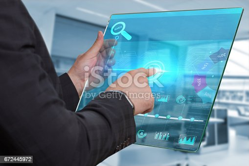 istock Business, Technology, Internet and network concept. 672445972