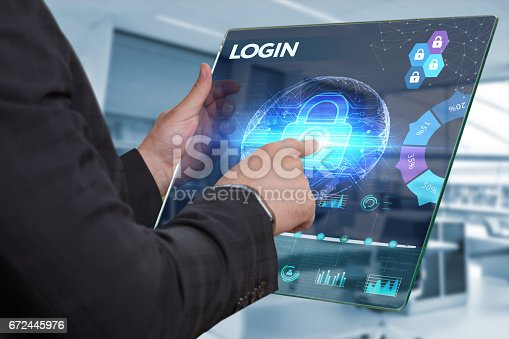 istock Business, Technology, Internet and network concept. 672445976