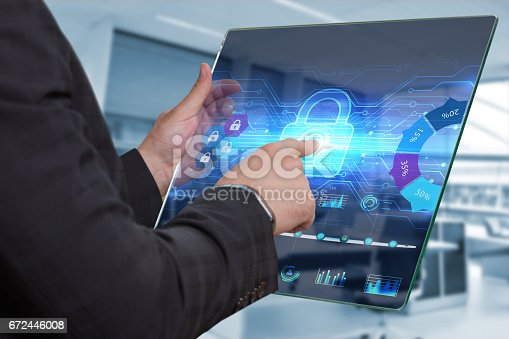 istock Business, Technology, Internet and network concept. 672446008