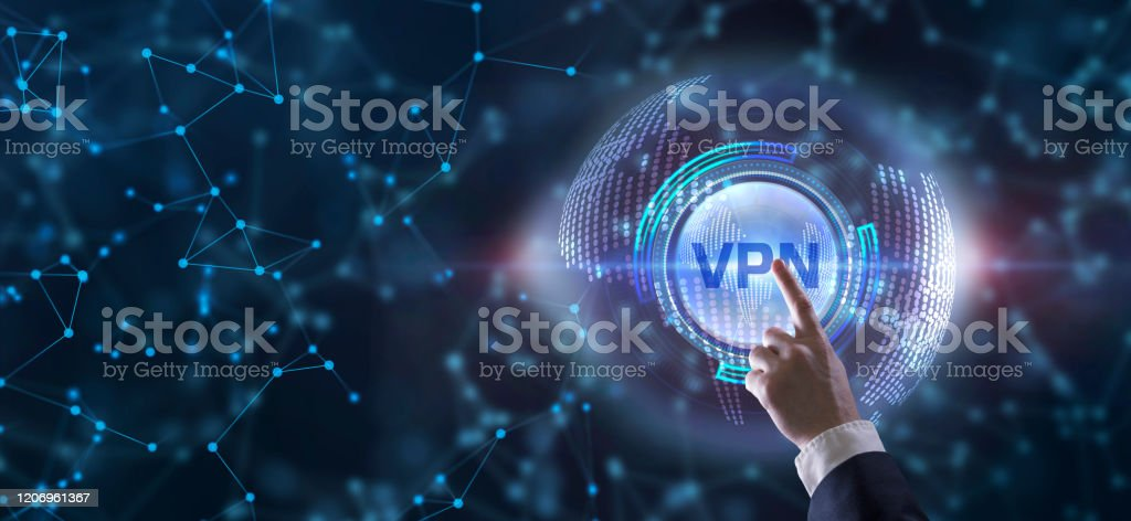 Business, Technology, Internet and network concept. VPN network security internet privacy encryption concept. Business, Technology, Internet and network concept. VPN network security internet privacy encryption concept. Business Stock Photo