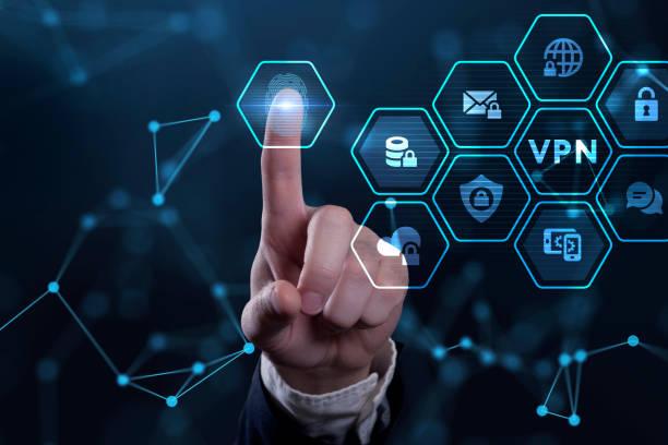affärs-, teknik-, internet- och nätverkskoncept. vpn-nätverk säkerhet internet sekretess kryptering koncept. - vpn bildbanksfoton och bilder