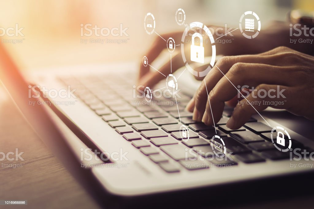 Business, technology, internet and networking concept. - Royalty-free Alertness Stock Photo