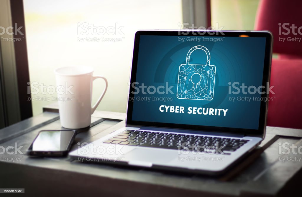 CYBER SECURITY Business, technology,FirewallAntivirus Alert Protection Security and Cyber Security Firewall – Foto