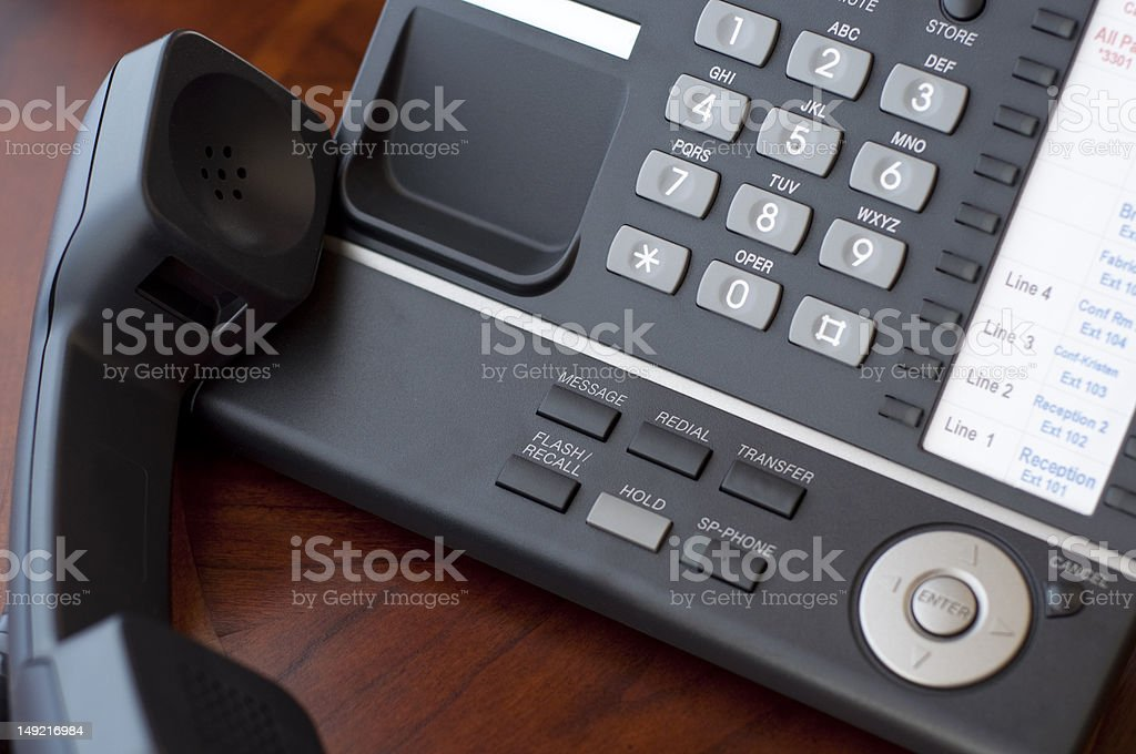 Business Telephone royalty-free stock photo