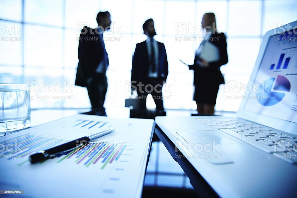Business theme stock photo
