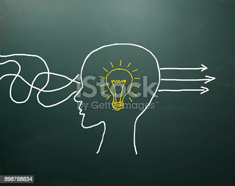 istock Business Thinking about structuring business process and solutions 898768634