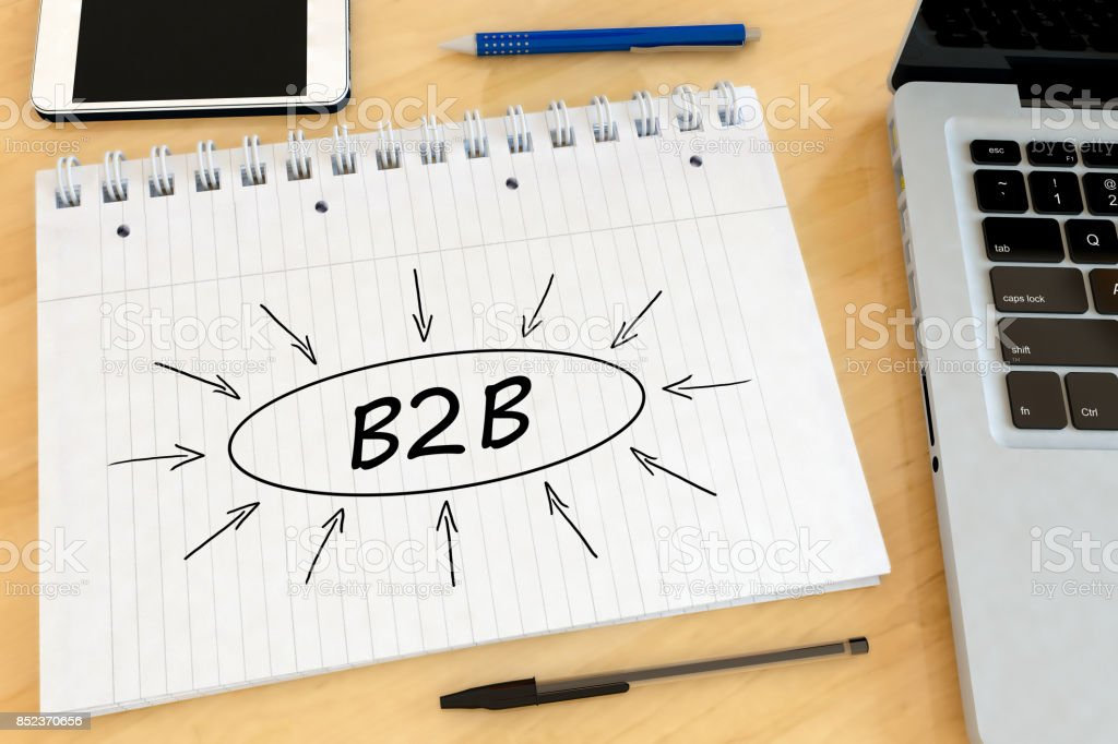 Business to Business stock photo
