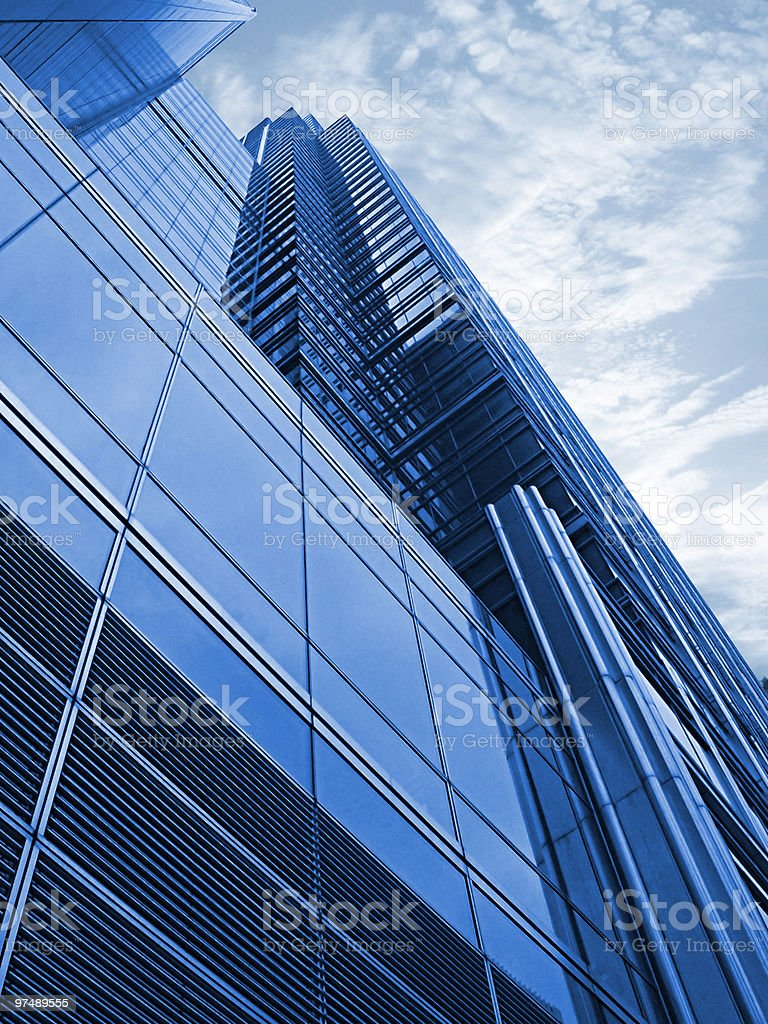 Business Tower (skyscraper) royalty-free stock photo