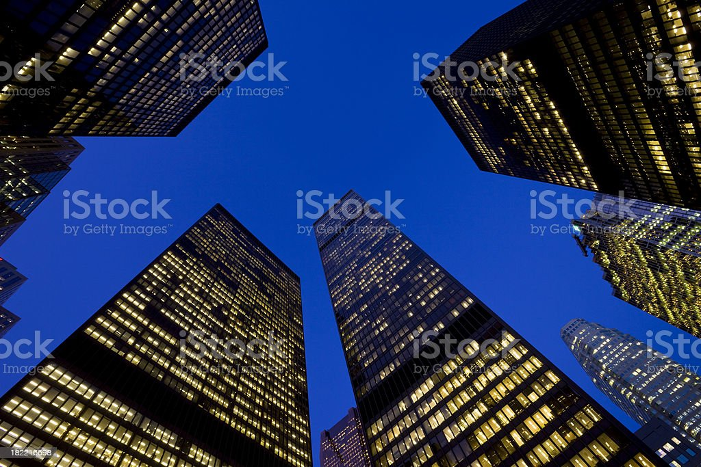 Business Towers royalty-free stock photo