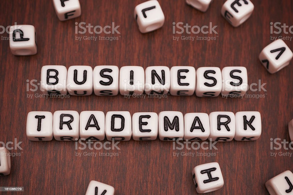 Business Trademark royalty-free stock photo