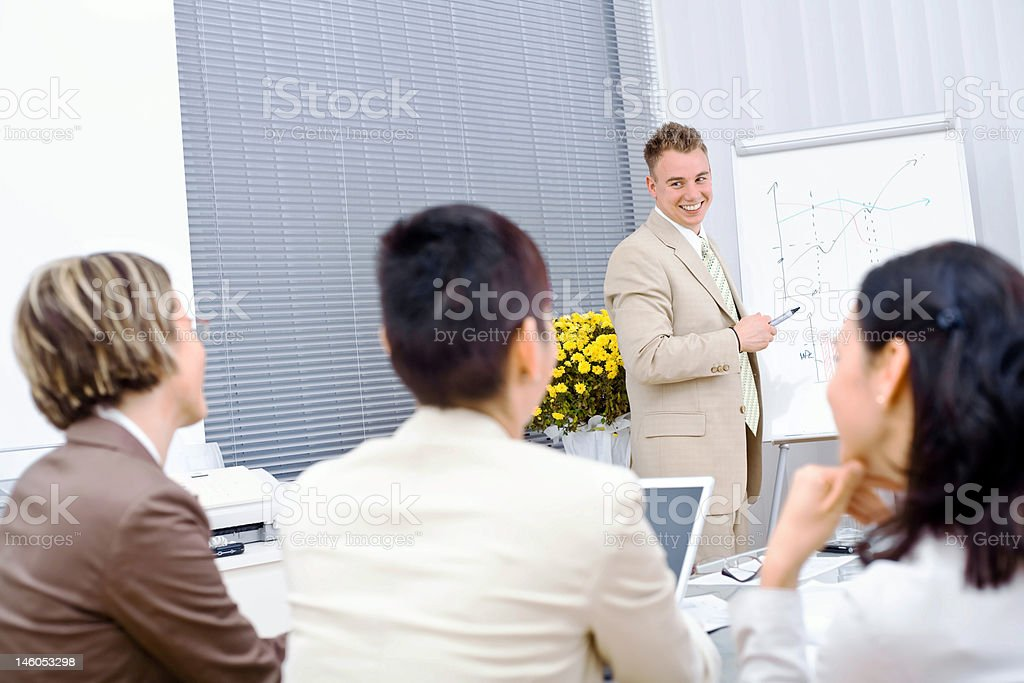 Business Training royalty-free stock photo