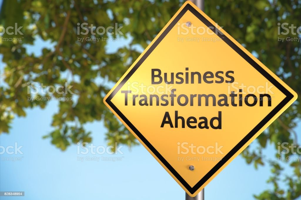 Business Transformation stock photo