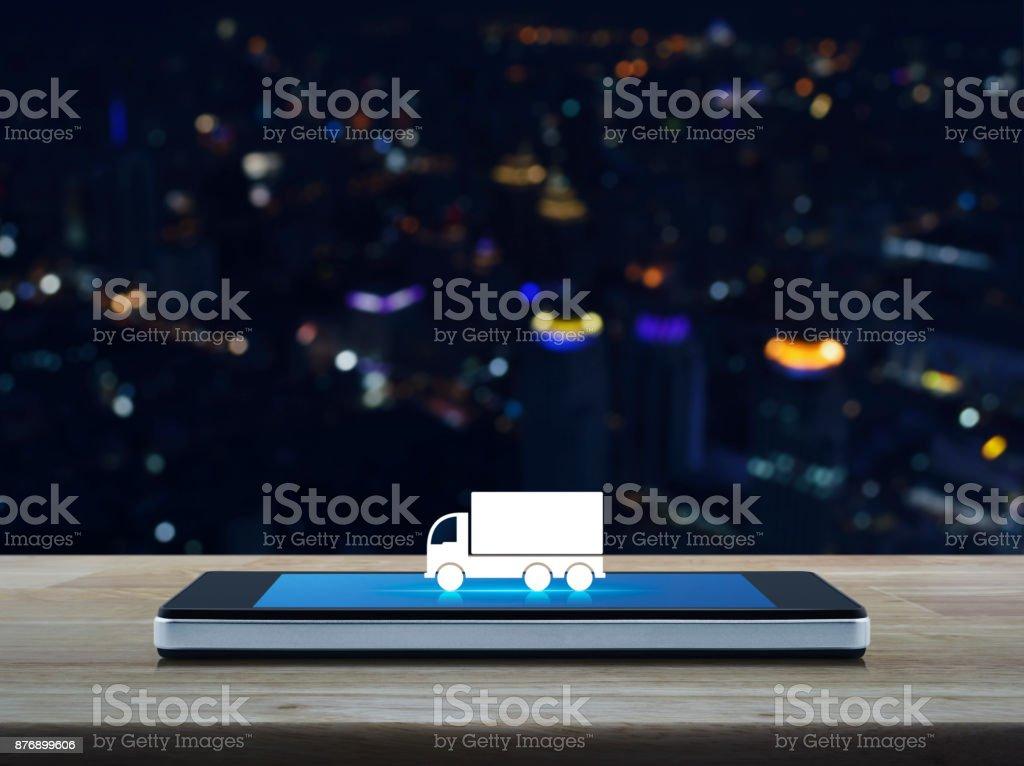 Business transportation service concept stock photo
