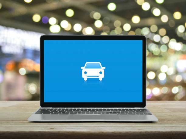 Business transportation service online concept stock photo
