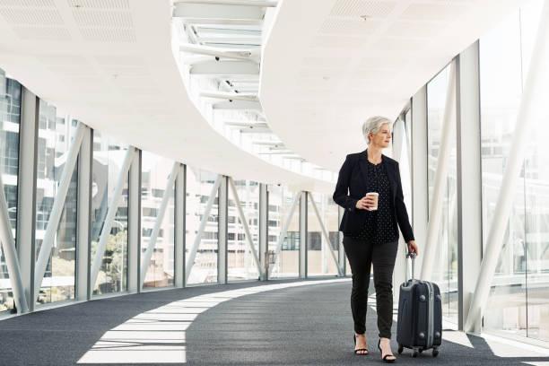 Geschäftsreisen öffnen die Tür der Gelegenheit – Foto