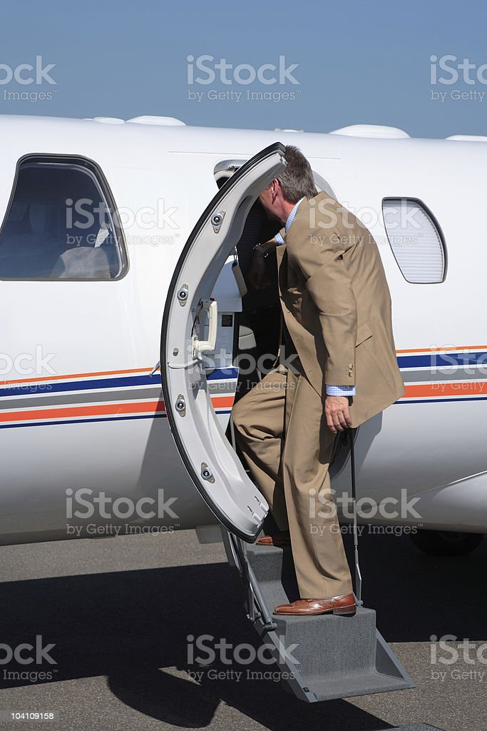 Business Travel royalty-free stock photo