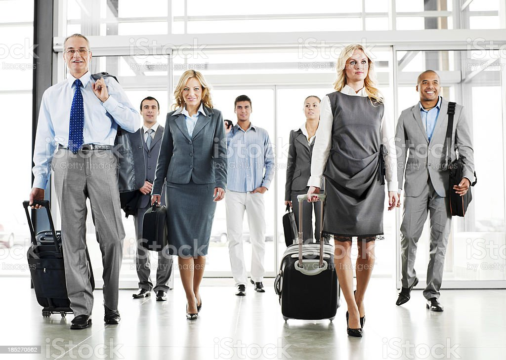 Business Travel. stock photo