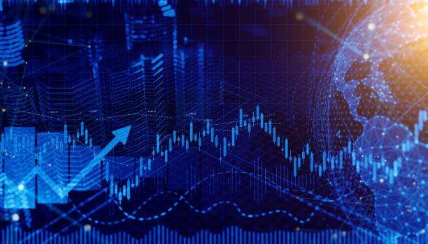 Business Trends Grafiken und Charts – Foto