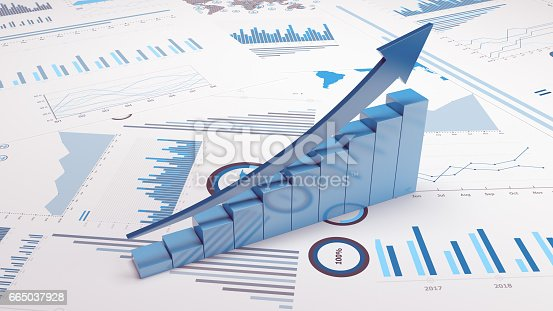 istock Business Trends Graphs and charts 665037928