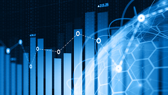 istock Business Trends Graphs and charts 921370828